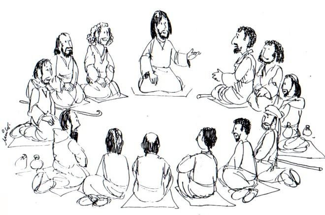 jesus-reunido-con-sus-discipulos