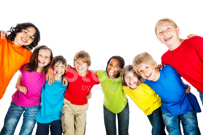 20773948-group-of-embraced-kids-in-colorful-t-shirts